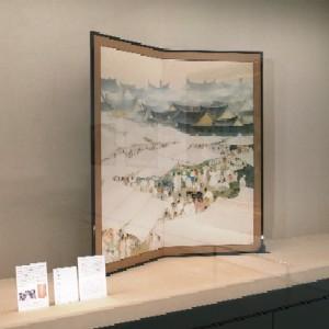 山口蓬春《市場》(1932年 東京藝術大学) 前田青邨《観画》(193... 東京・ソウル・台北