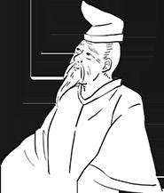 柿本人麻呂のイラストイメージ
